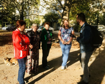 Историей севастопольского «сквера без хозяина» заинтересовались европейские журналисты