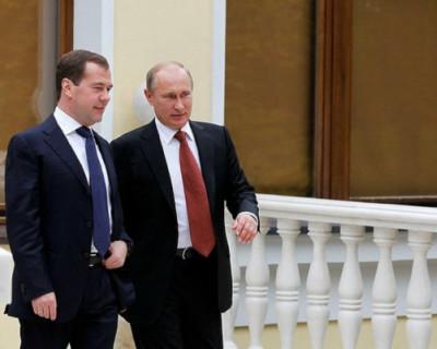 Дмитрию Медведеву холодно в Кремле (ВИДЕО)
