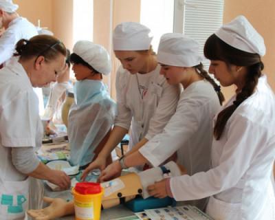 В Севастопольском медколледже провели мастер-класс в рамках проекта «WorldSkills»