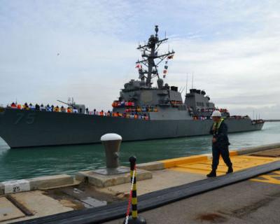 На боевую службу. СКР «Ладный» - курс Средиземное море (фото)