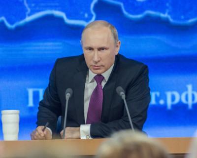 С днём рождения, Владимир Путин!