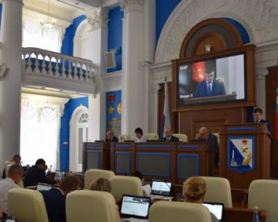 Заксобрание Севастополя согласовало назначение Алексея Парикина на должность заместителя губернатора