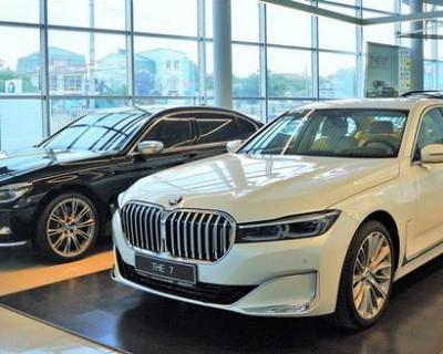 В Крыму началась продажа новейшей модели BMW 7