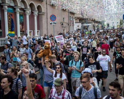 День протеста в Москве стоит 1 млрд 37 млн рублей