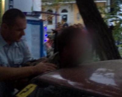 Пьяный крымчанин напал на сотрудника ГИБДД