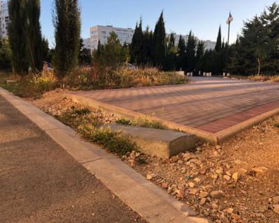 Что происходит в севастопольском отремонтированном Парке Победы?