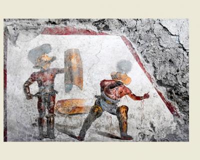 Археологи нашли в Помпеях уникальную фреску