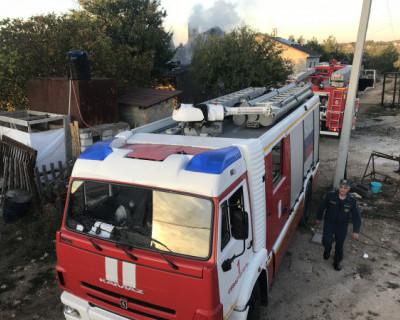 Севастопольские спасатели ликвидировали пожар в районе мыса Фиолент