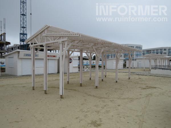 песочная зона для детей