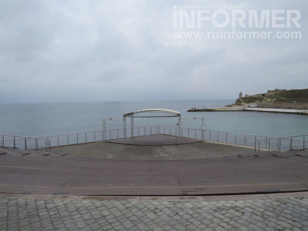 пляж Солнечный в Севастополе после ремонта