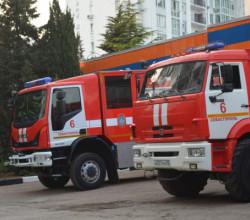 В Севастополе загорелась квартира