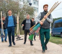 Более 4,5 тысяч человек вышли в Севастополе на общегородской субботник