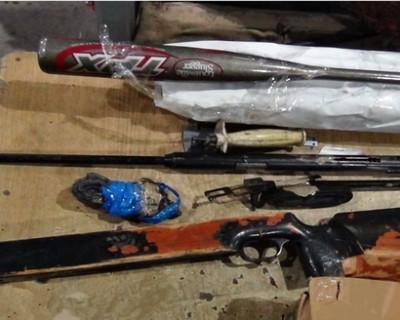 Мужчина пытался ввезти в Крым пневматическую винтовку