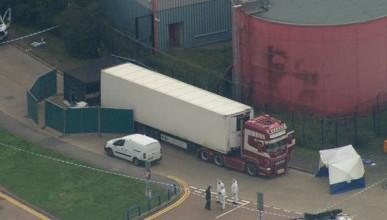 В Великобритании обнаружен грузовой контейнер с 39 трупами