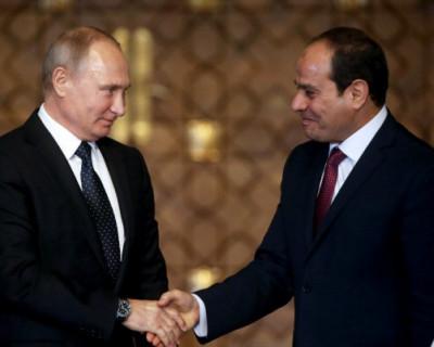 Президент Египта оделся как Путин (ВИДЕО)