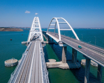 Строительство Крымского моста позволило восстановить географический облик Керченского пролива