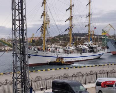 Фрегат «Херсонес» кинул якорь в Севастополе