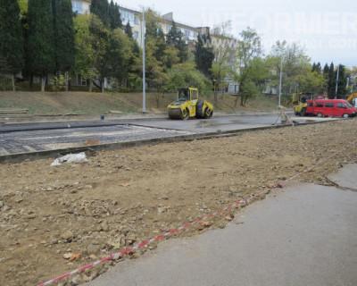Как ремонт дорог в Севастополе приводит к ликвидации парковок