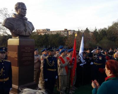 В Крыму открыли памятник Герману Титову