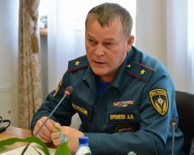 Главу МЧС Крыма освободили от занимаемой должности