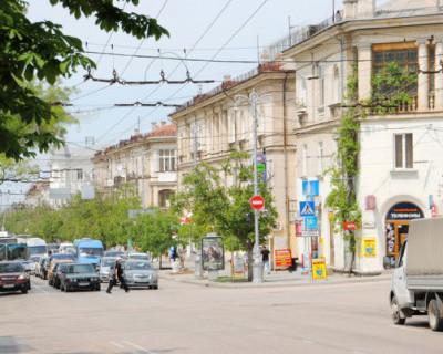 В Севастополе на улице Большая Морская вводится новое временное движение