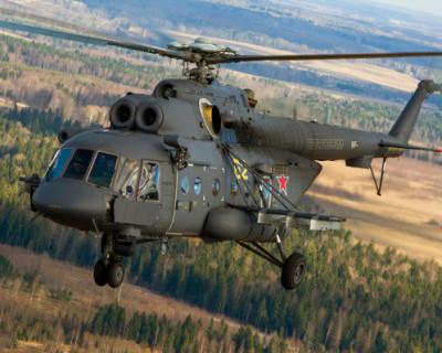 Военные вертолеты в Крыму переведены на зимний режим эксплуатации