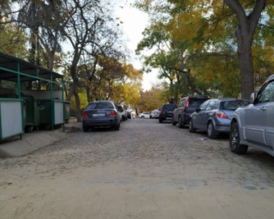 На севастопольской улице восстановили историческую брусчатку