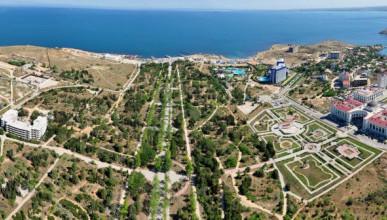 Набережную Парка Победы в Севастополе благоустроят