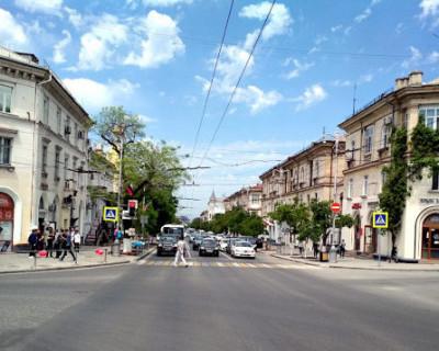 Движение транспорта в центре Севастополя по городскому кольцу снова меняется