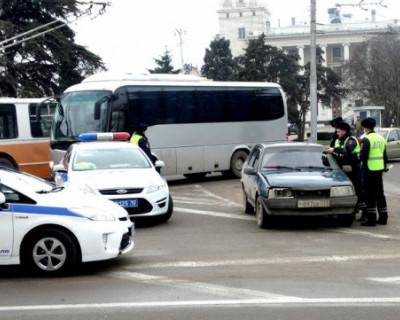 Сотрудники ГИБДД Севастополя задержали водителя автобуса с признаками опьянения