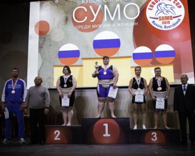 Севастопольские сумоисты завоевали медали на Кубке Европы