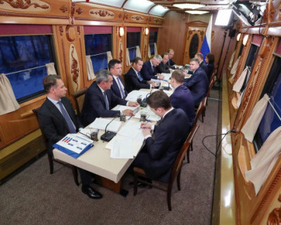 «Комсомолка» выпустила материал о спецпоезде Путина и Медведева