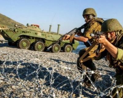 В Крыму проходят учения подразделений бригады береговой обороны Черноморского флота