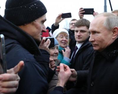 Путин: «Что ж вы все об Украине, надо и о себе подумать»