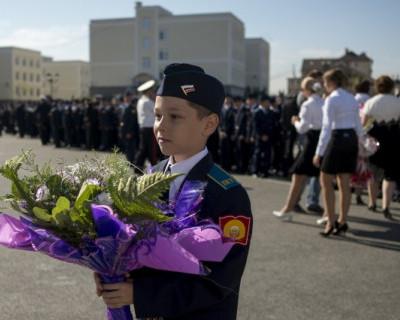 Открытие первого кадетского училища в Севастополе