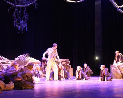 В Севастополе более 100 детей приняли участие в спектакле «Джунгли»