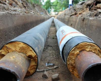 В Севастополе продолжается ремонт теплотрассы