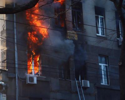 После пожара в Одесском колледже пропали 14 человек