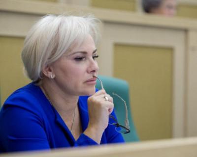Ольга Ковитиди обратила внимание своих коллег на спад в строительном бизнесе Крыма