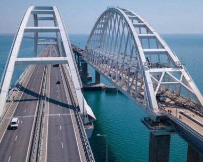 Движение через Крымский мост будет ограничено на неделю