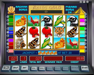 Игровой автомат Золото Ацтеков на my-azart.net