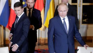 В Кремле прокомментировали желание Зеленского пожать руку Путина