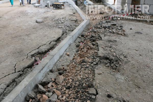 Фоторепортаж «ИНФОРМЕРа»: как в Севастополе строят дороги