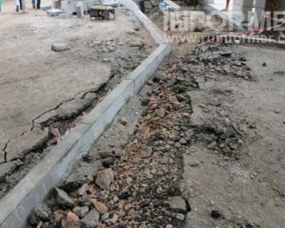 Фоторепортаж «ИНФОРМЕРа»: как в Севастополе строят дороги (ФОТО)