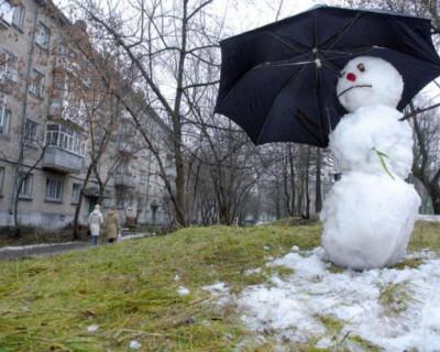 Россия ждет аномально теплый декабрь