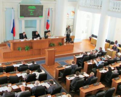 Депутаты Заксобрания Севастополя определили зарплаты государственных служащих города