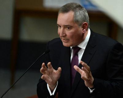 Рогозин собирается построить лифт на луну