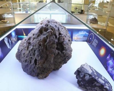 В России загадочно поднялся купол над метеоритом (ВИДЕО)