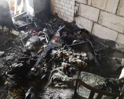 В Крыму годовалый малыш устроил пожар в доме