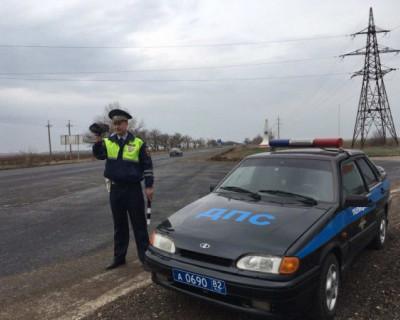 Пьяный крымчанин попытался дать взятку инспектору ДПС